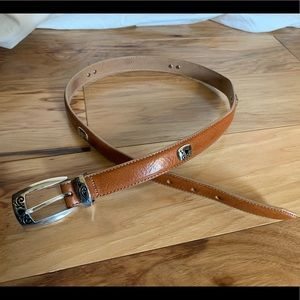 Brighton I love golf leather belt 32 inches